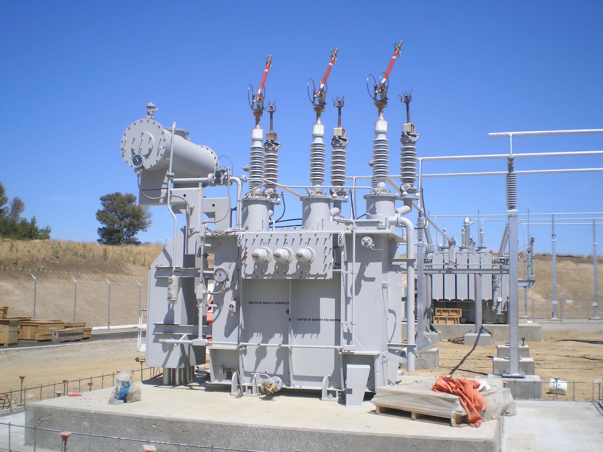 Power Pros CDWR South Bay Pumping Plant Project