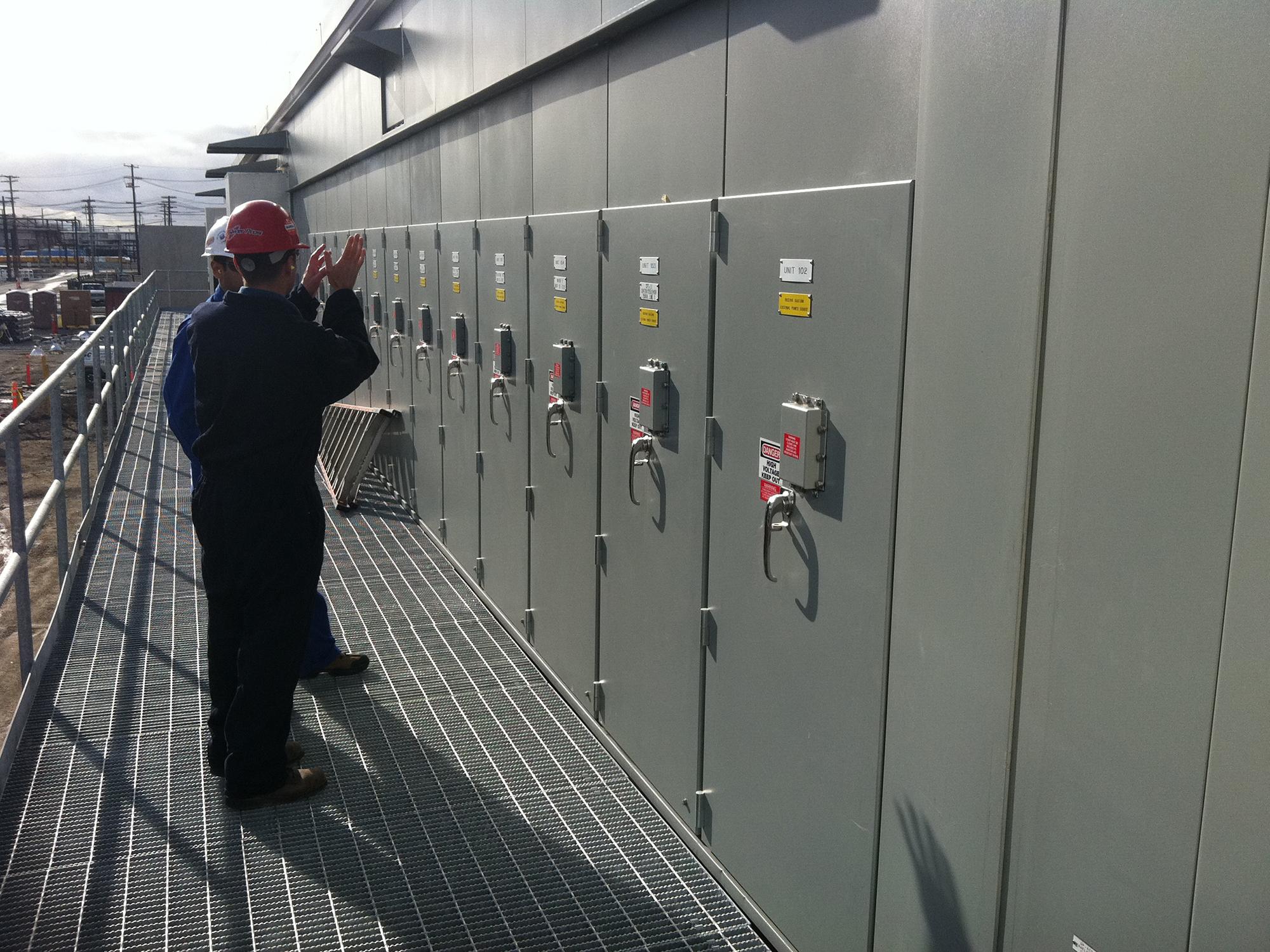 Power Pros Chevron South Yard Project