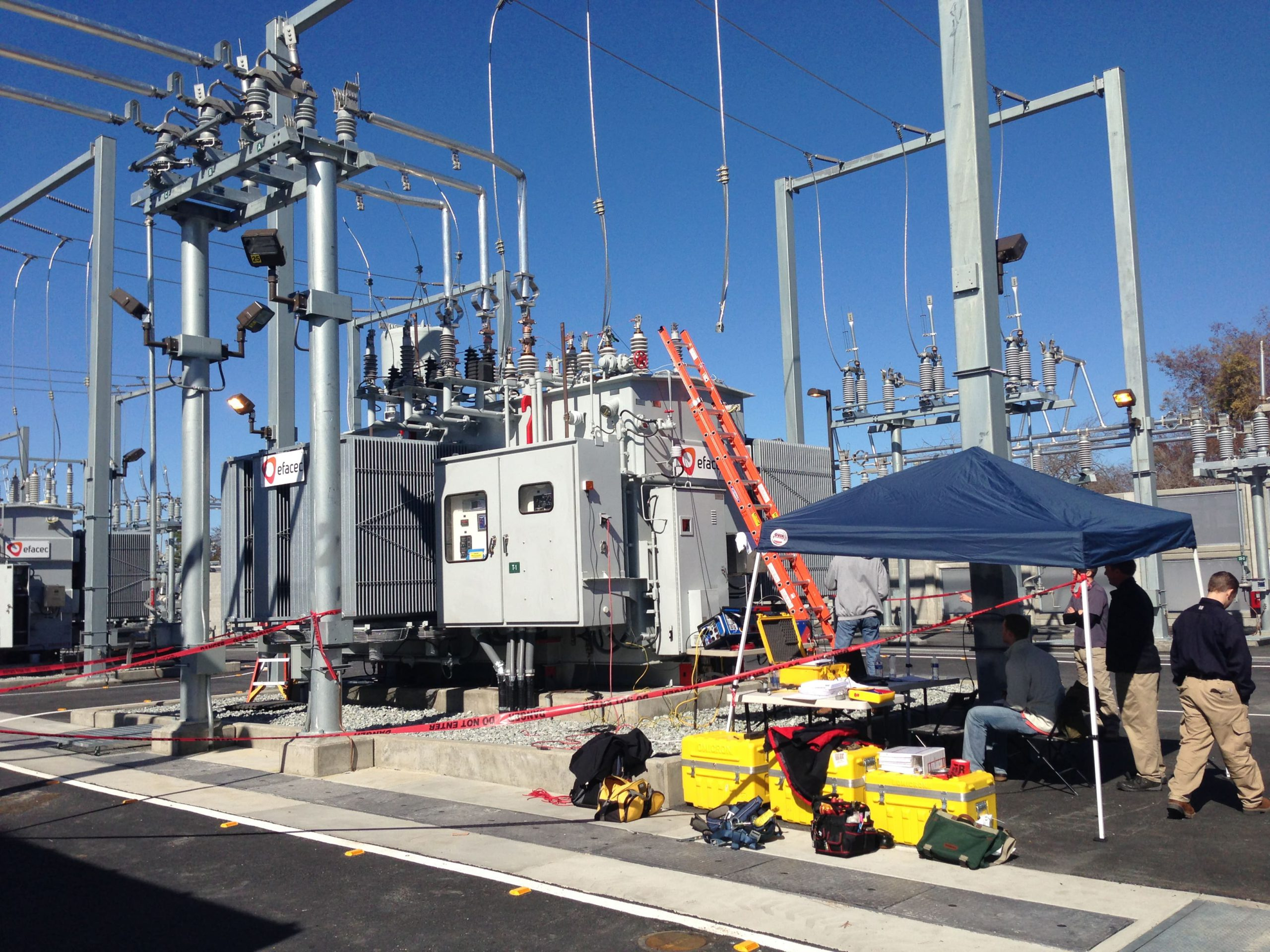 Power Pros Mission Substation Project