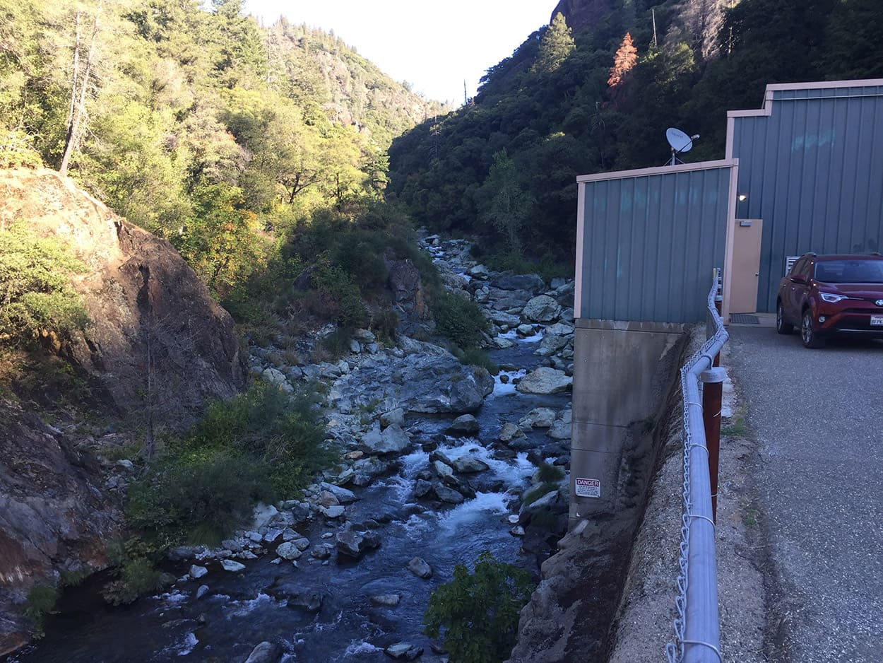 Forks of Butte Hydroelectric Project Creek