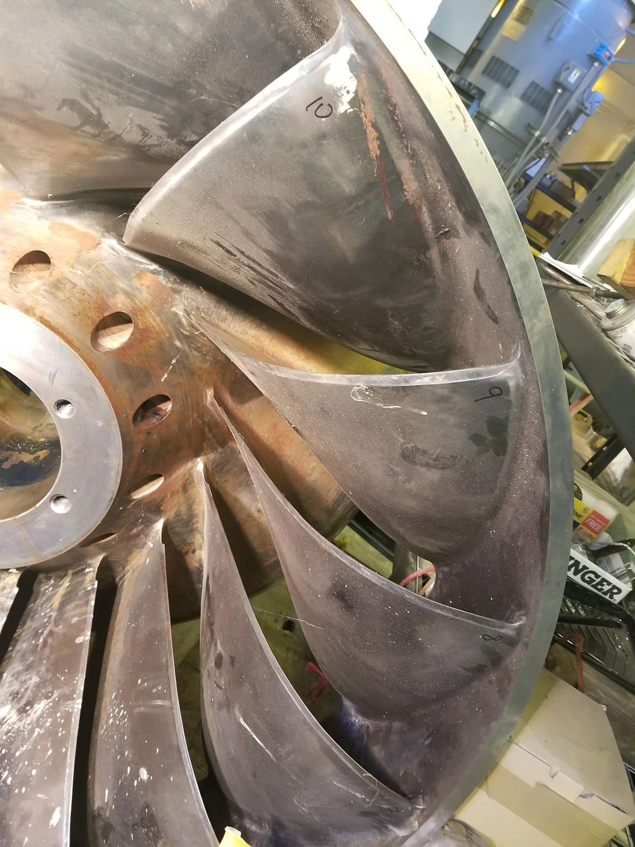 MCWRA Nacimento Turbine