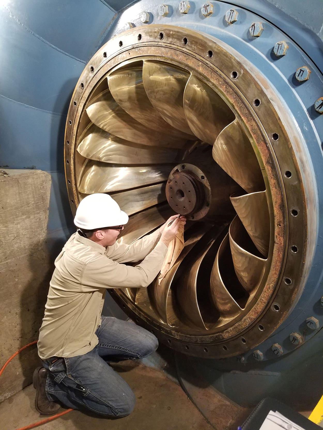 MCWRA Nacimento Turbine 2