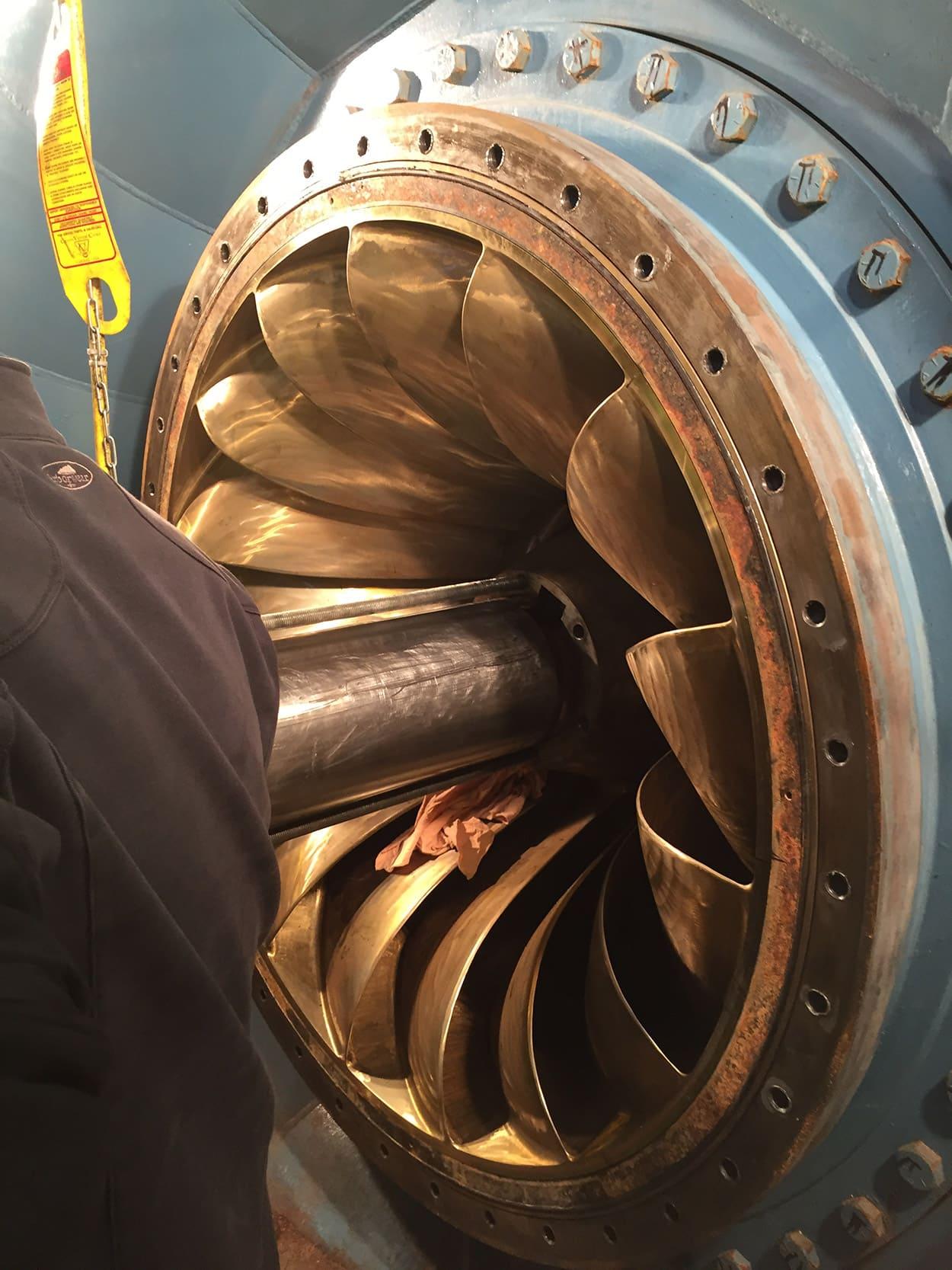 MCWRA Nacimento Turbine 4