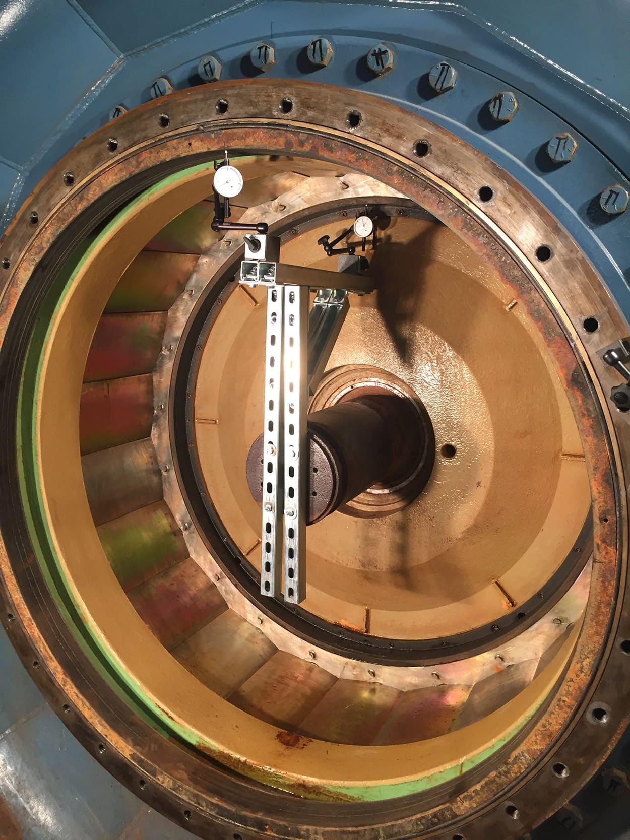 MCWRA Nacimento Turbine 5